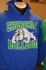 Churchill Bulldog Hoodie