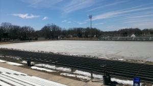 WCHS Stadium Field, March 12